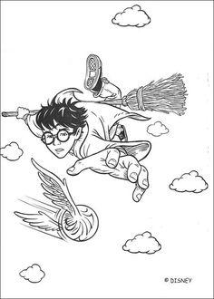 Creatures Magiques Harry Potter Livre De Coloriage Broche