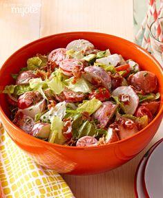 Salade de pommes de terre BLT #recette