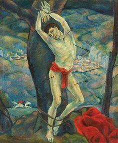 Herbert Gurschner St Sebastian, Renaissance, Medieval, Saints, Inspire, Artists, Painting, Inspiration, Interwar Period