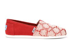 undefined Red Woven Women's Classics