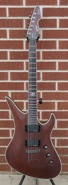 Schecter Guitar Research 2011 Blackjack ATX Avenger Electric Guitar Aged Walnut Satin