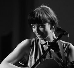 Elena Tonra. not only a beautiful voice, she's adorable! Lead singer of Daughter