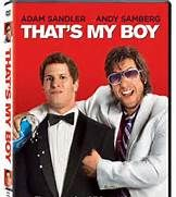 That's My Boy (2012). Starring: Adam Sandler, Andy Samberg, Leighton Meester, Vanilla Ice, James Caan, Susan Sarandon, Milo Ventimiglia, Eva Amurri Martino, Will Forte, Colin Quinn and Meagen Fay