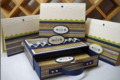Drawer Box  by Holly McMillen    Create an adorable box with a drawer to hold cards or other goodies.
