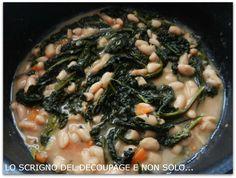 Zuppa con fagioli e cavolo nero