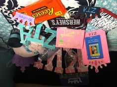 Crafts for my little <3 #Big #Little #ZTA