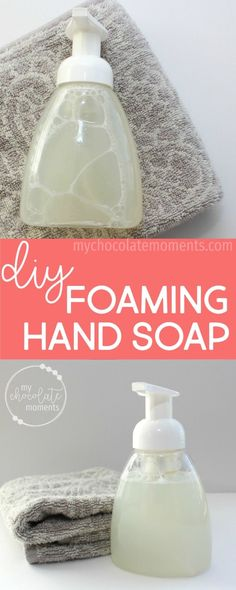 DIY foaming hand soa