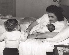 St. Gianna Molla with her children