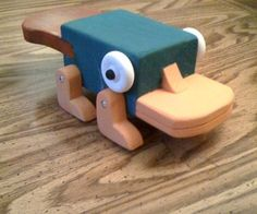 Perry the Platypus Inaction Figure