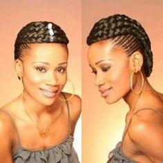Creative braided crown