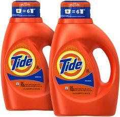 Tide Liquid Detergent - 50 oz - Original Scent - 2 pk Tide https://www.amazon.com/dp/B00J5I275Y/ref=cm_sw_r_pi_dp_x_L9U6ybJP1WB22