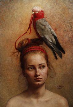 Possesesor No.3   Louise Fenne   Ann Long Fine Art - Charleston, SC