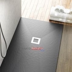 Plato de ducha resina 70 x 110 Pizarra Negro RAL 9005