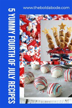 Fourth of July is a fun celebration! Add some awesome yum to your July 4th menu this year with these 5 great ideas! Oreo Truffles Recipe, Truffle Recipe, Fourth Of July Food, July 4th, Simple Recipes, Great Recipes, Learn To Cook, Food To Make, Blue Popcorn
