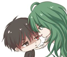"""(gif) Blood Kaneki and Eto 