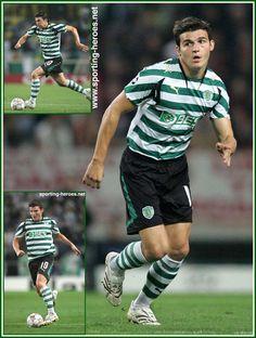 Simon Vukcevic - Sporting Clube De Portugal - UEFA Liga dos Campeões 2007/08 v Roma