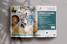 #folder for #thermegeinberg #sparesortgeinberg by www.diejungenwilden.at Wellness, Corporate Design, Resort Spa, Boys, Brand Design