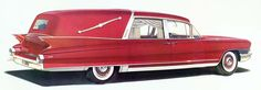 1961 Cadillac Brougham Hearse by Superior Coach