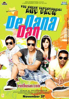De Dana Dan Hindi Movie Online - Akshay Kumar, Suniel Shetty, Paresh Rawal and Katrina Kaif. Directed by Priyadarshan. Music by Pritam. 2009 De Dana Dan Hindi Movie Online.