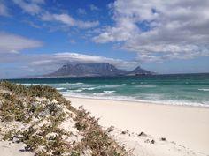 Blouberg Beach, view to Cape town