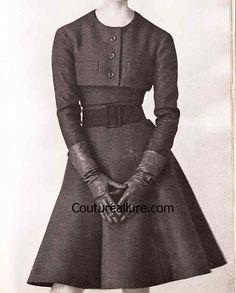1961 Dior Suit Dresses