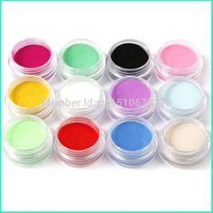 Hot-AliExpress-12-Colors-Acrylic-Powder-Manicure-Tips-Nail-Art-3D-Decoration-Builder-Polymer-Free-Shipping/2042257445.html -- You can get additional details at the image link.