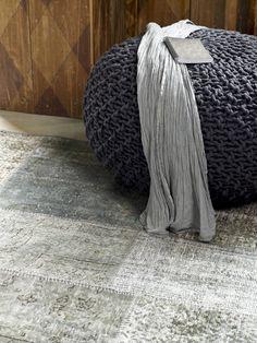 Floor Rugs, Merino Wool Blanket, Ottoman, New Homes, Flooring, House Styles, Interior, Inspiration, Furniture