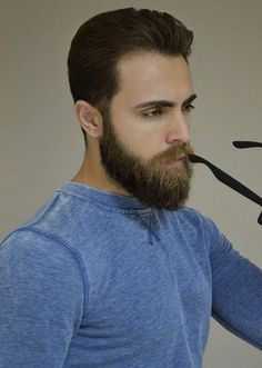 30 Simple haircuts with beard for mens 2018