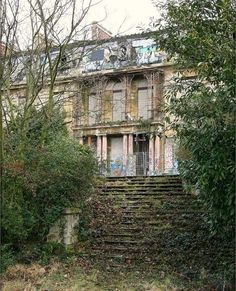 The Rotting Rothschild Mansion in Paris