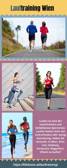 Mit regelmäßigem Lauftraining kommst du rasch in Form, hebst dein Fitnesslevel und deinen allgemeinen Gesundheitszustand. Der Blut- und Sauerstofffluss in deinem gesamten Körper verbessert sich, und das Schlaganfallrisiko sinkt. Lauftraining verbrennt viele Kalorien und ist ideal, wenn du allgemein sportlicher werden möchtest. Auch Menschen mit hohem Blutdruck oder Diabetes profitieren vom Laufsport. Klagenfurt, Innsbruck, Stress, Diabetes, Running, Sports, Villach, Linz, Train Hard