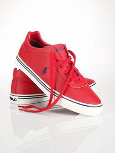 buy online 175de da7d3 Leather Hanford Sneaker - Polo Ralph Lauren Sneakers - RalphLauren.com.  Bills · Stuff to Buy