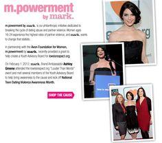 Erica's Fashion & Beauty: m.powerment by mark #mpowerment
