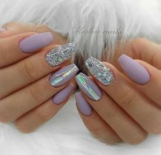 Round Nails, Oval Nails, Matte Nails, Acrylic Nail Shapes, Acrylic Nail Designs, Acrylic Nails Natural, Pointed Nails, Best Nail Art Designs, Square Nails