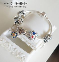 Do you love it:) SOUFEEL Charms Bracelets, Each grain of beads, each with a different meaning, listen to the voices of customers, strung Love Story.