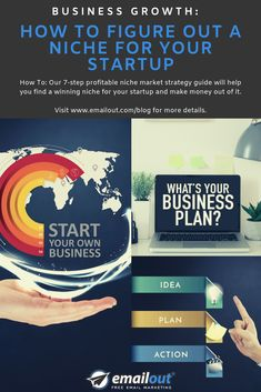 How To: Our profitable niche market strategy guide will help you find a winning niche for your startup and make money out of it. Strategy Business, Business Planning, Free Email Marketing, Digital Marketing, Startups, How To Make Money, How To Plan, Shop Plans