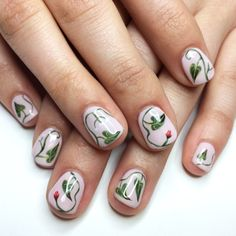 Flowers on your fingers!