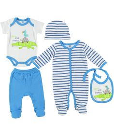 a23246a01a48a 5-piece starter set sizes 3-6 months. Available at selected Ackermans stores