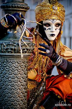 Venice carnival. Photograph by xposure-arad on Flickr