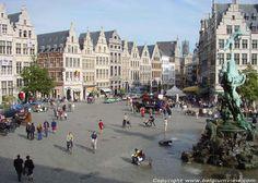 Antwerpen - fantastisch winkelen, gezellige Grote Markt.