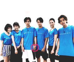 """[Kento's 7th VS Arashi, 07/07/16] https://www.youtube.com/watch?v=-DWpyQkYMx8 Team """"Sukina hito ga iru koto"""", Mirei Kiritani x Kento Yamazaki x Shohei Miura x Shuhei Nomura x Nanao x Sakurako Ohara, J drama """"Sukina hito ga iru koto"""", Jul/11/2016"""