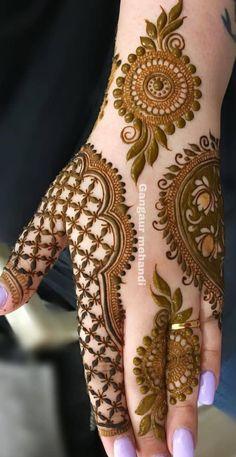 Kashee's Mehndi Designs, Wedding Henna Designs, Henna Tattoo Designs Arm, Mehndi Desing, Full Hand Mehndi Designs, Mehndi Designs For Girls, Mehndi Designs For Beginners, Mehndi Design Photos, Mehndi Designs For Fingers