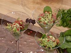 Shrimp, Avocado, and Lobster Cocktail with a Tequila-Cilantro Mayonnaise from FoodNetwork.com