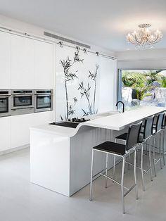 Blanca   #Cocinas   #Kitchens
