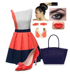 """""""style 2"""" by mariamsilue on Polyvore featuring Lattori, Kate Spade, Bobbi Brown Cosmetics, Boohoo, Marc by Marc Jacobs and Valextra"""