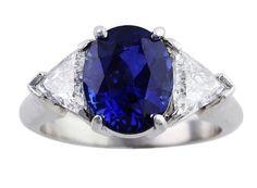 4ct Sapphire Ring