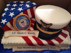 US Coast Guard Cake