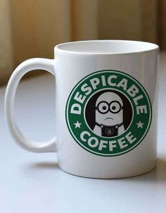 For the Despicable Me fans-I would need it to say despicable tea