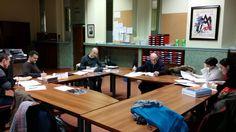 Colexio Marista Lugo @maristaslugo #compostelaenruta Ourense, elixindo as técnicas de cooperativo para o segundo trimestre