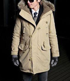 Men's Parka Hooded Coat