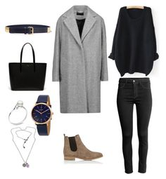 """""""Minimal : 5"""" by erinkelllyyy on Polyvore featuring WithChic, See by Chloé, rag & bone, Lacoste, Barneys New York, DKNY and NOVICA"""